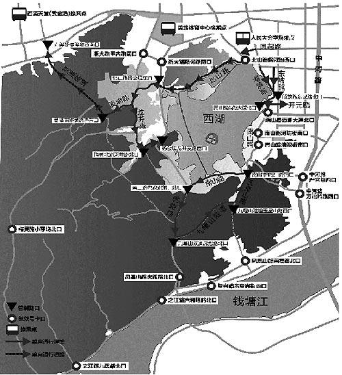 春季旅游旺季 西湖景区将单向大循环交通