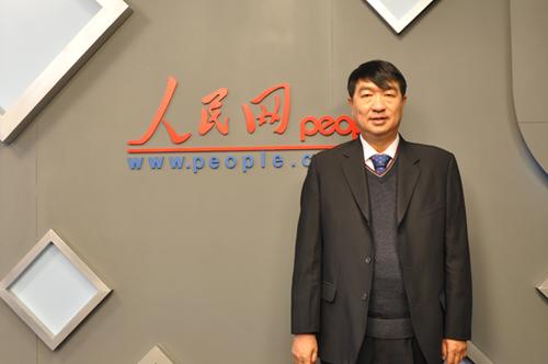 全国人大代表,普洱市委书记沈培平做客人民网(组图)