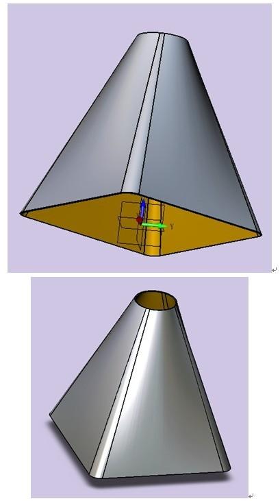 cad将平面图变3d立体图