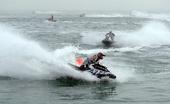 图文:水上摩托世锦赛卡塔尔站 法国选手塞瑞