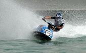 图文:水上摩托世锦赛卡塔尔站 法国选手布特奥