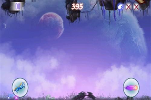 飞奔的场景配上响而有力的背景音乐,为游戏添加不少色彩.