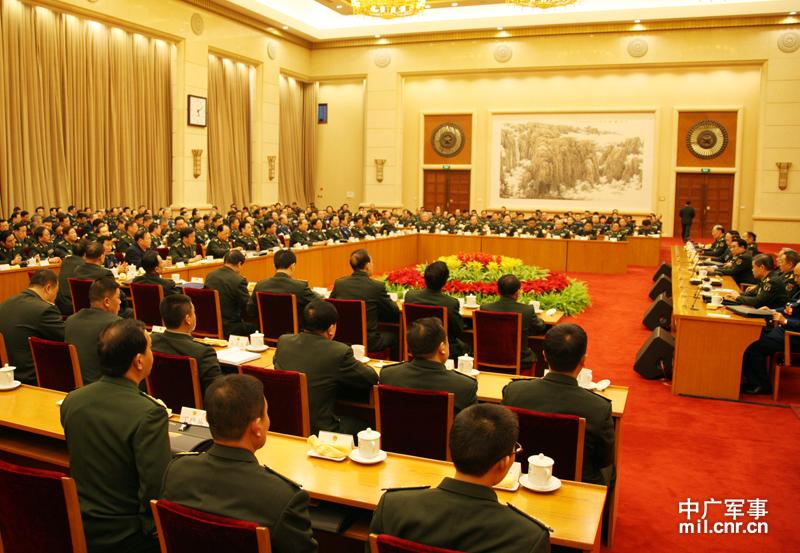 十一届人大五次会议_出席十一届全国人大五次会议解放军代表团成立--中国广播网 ...