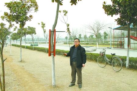 杨长群发明的树干自动调制器