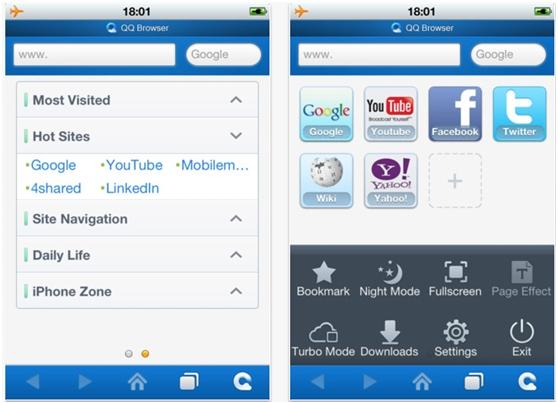 手机qq浏览器1.0(iphone)国际版正式发布
