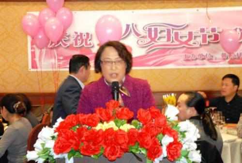 中国驻佛罗伦萨总领馆周韵琦总领事代表总领馆向妇女侨胞祝贺节日