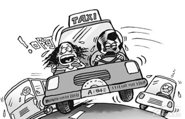 道路风险手绘图
