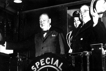 1946年3月5日 丘吉尔