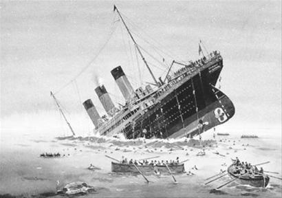 """泰坦尼克号沉没地点_""""泰坦尼克号""""沉没是月亮惹的祸?(组图)-搜狐滚动"""