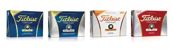 Titleist推出四款全新高尔夫球 满足多方面需求