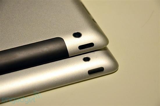 下面我们就来看一些iPad3和iPad2的细节对比图吧。