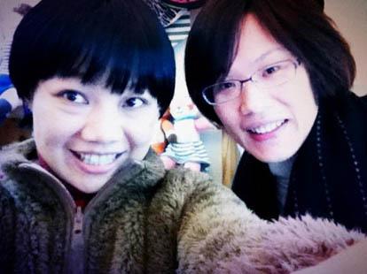 PinkPandaMary的Mary Cheung(左)