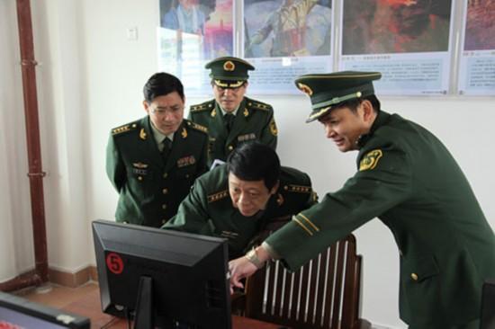 举旗铸魂 武警水电部队主题教育试点活动在南宁展开图片
