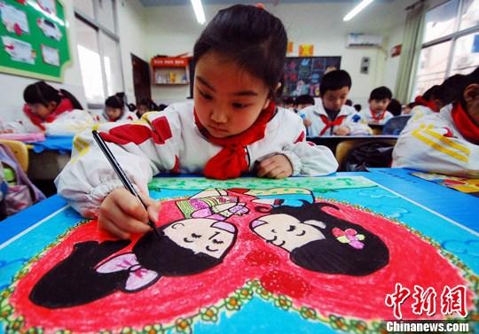 三八妇女节将至九江江西小学生妈妈感恩绘画宿迁路小学青海湖图片