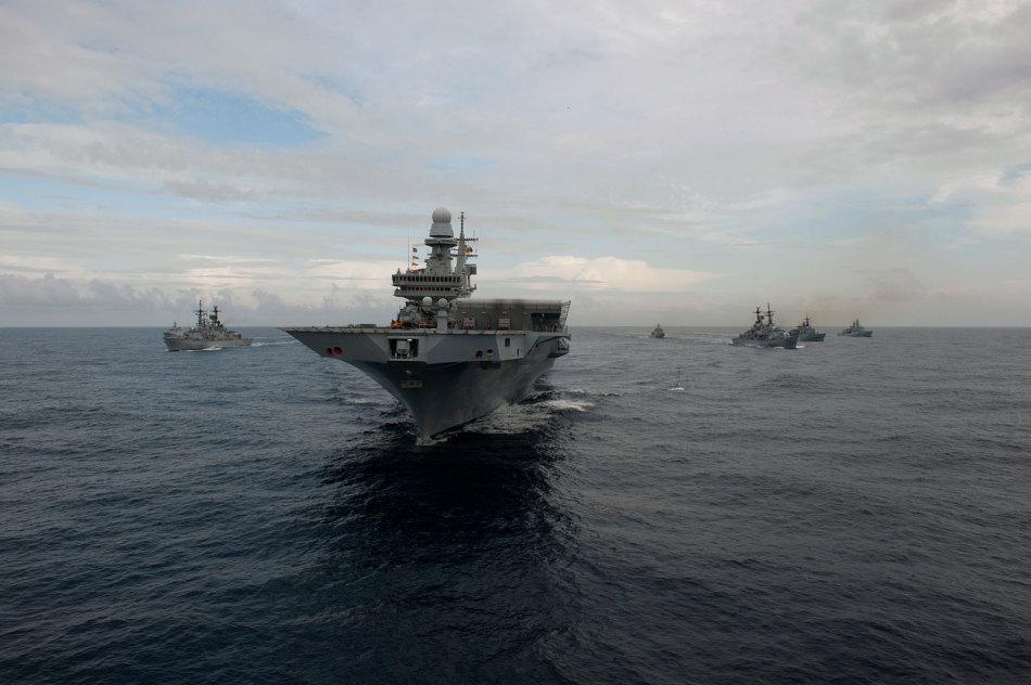 意大利海军航母编队