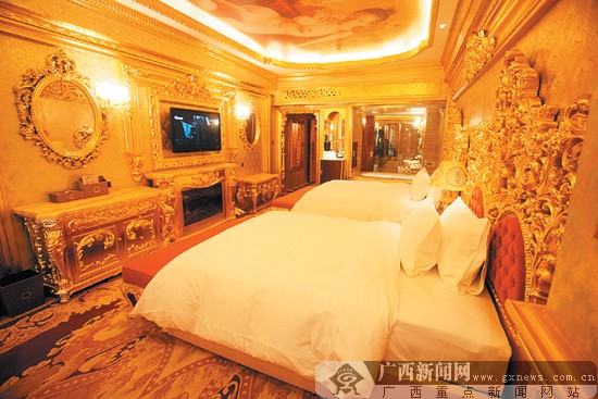 酒店房间的装修豪华