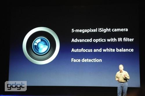 弥补短板:新iPad摄像头素质大幅提升