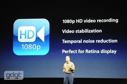 1080P视频拍摄性能/视频防抖功能/降噪功能/视网膜屏显示