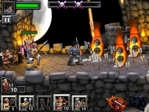 超精致策略塔防游戏 iPad抵御黑暗军团