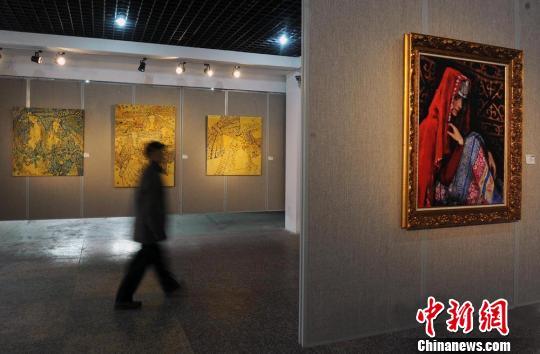 艺术 乌鲁木齐市/3月8日国际妇女节,第三届新疆当代女性油画艺术作品展在...