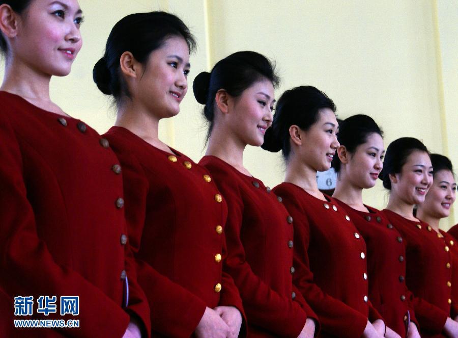 海航哈尔滨招空姐 美女云集高清组图 搜狐滚