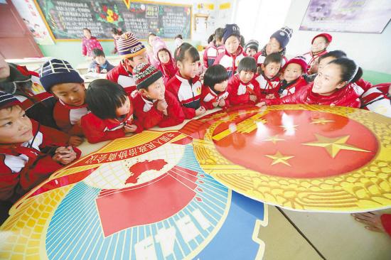 赣榆县塔山镇中心小学鼓励国事关注全国(图)服学生小学校图片