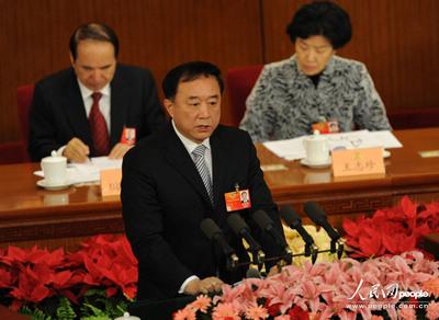 政协十一届五次会议第四次全体会:委员于宁发言