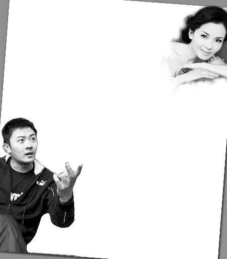 刘涛/单联全(右二)带领冯一非(右一)等主创在上海为新剧宣传