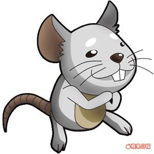 老鼠和羊的卡通图