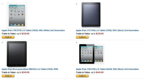 亚马逊抵价购物活动页面截图