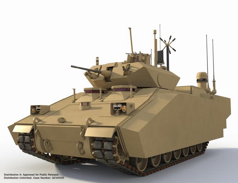 组图:比坦克还重的步兵战车