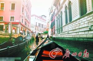 风景 威尼斯/把自己融入风景里。