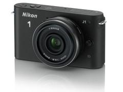 图为:尼康数码相机J1