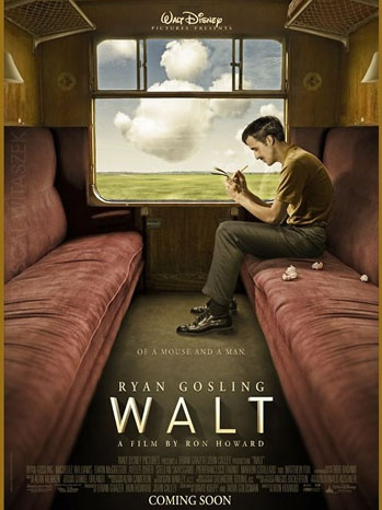 沃尔特-迪士尼传记电影《沃尔特》的海报