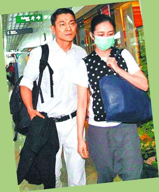 刘德华/刘德华与老婆朱丽倩的女儿预计今年6月诞生,传他为了避开香港...