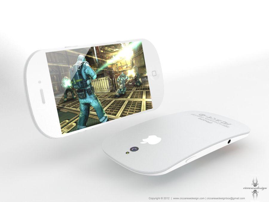 苹果iPhone 5概念手机 出色的运算能力可运行大型3D游戏