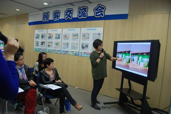 """北京 顾客/""""大乐投""""/顾客评选自己最喜爱的展区"""
