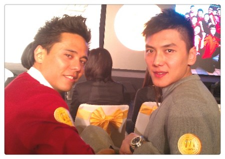 麦小龙和张博在麦当劳队。