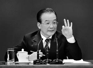 十年记者会总理三引林则徐诗