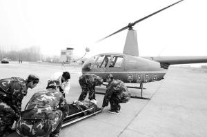 首支民兵直升机侦察分队亮相