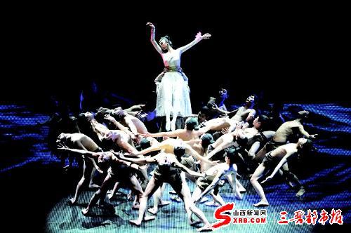 民族舞蹈结束造型