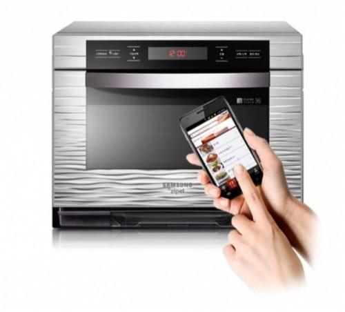 3C主妇达人 三星发布Android智能烤箱