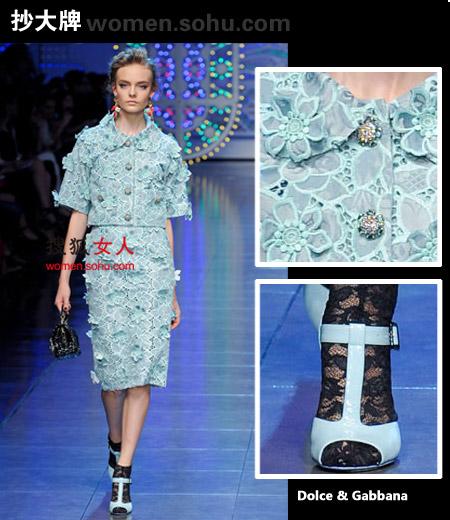 3D立体印花裙 小清新需要有点看头