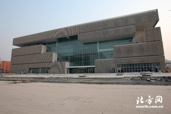 文化中心图书馆外景