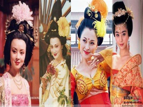 中国古代的四大美人分别是:西施