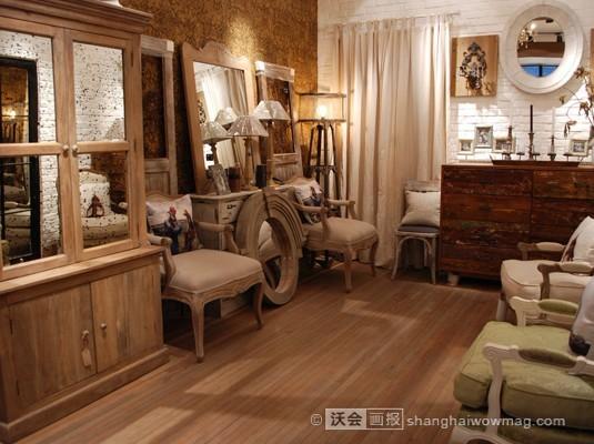 法式乡村风格壁纸 韩国创意家居生活馆