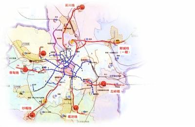 武汉江夏地铁规划图