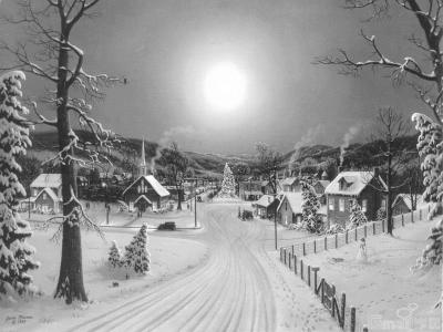 幽微的雪夜(组图)