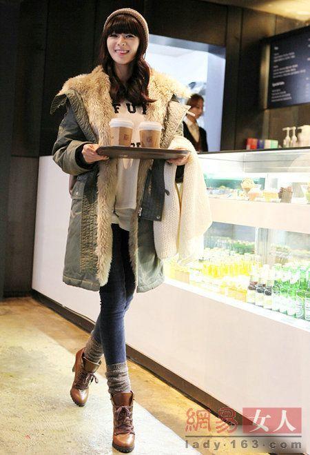 设计 大衣/特别高贵又保暖的一款棉大衣,奢华的毛胆,经典的颜色,成就了...