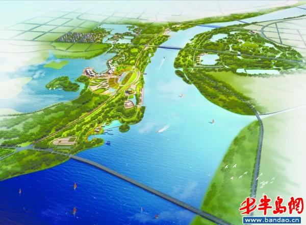 南段即跃进河以南区域,对接高新区和西海岸经济新区,围绕北斗卫星导航